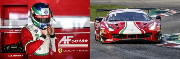 Alessio Rovera Monza GT Ita 2020 ph AG photo
