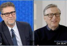 Bill Gates da Fabio Fazio