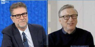 Bill Gates da Fabio Fazio
