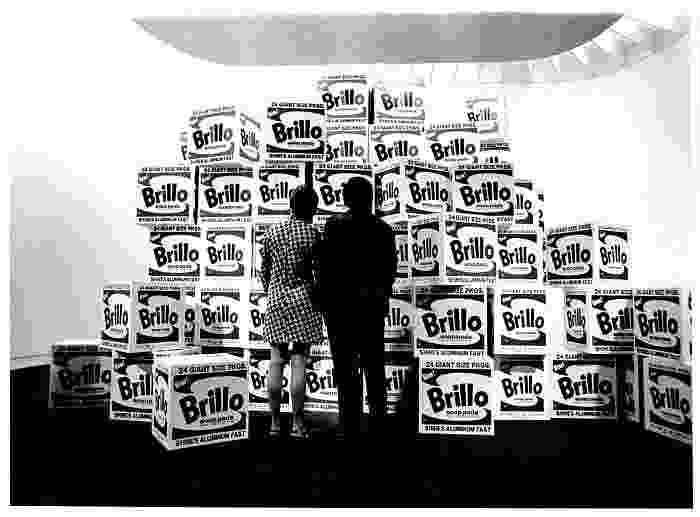 Gianfranco Gorgoni Warhol Show at Pasadena Art Museum California 1973