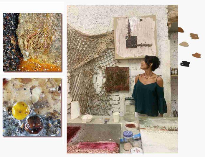 Licia Fusai opere su tela