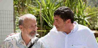 Nicola Fiasconaro con lo scultore Arturo Di Modica