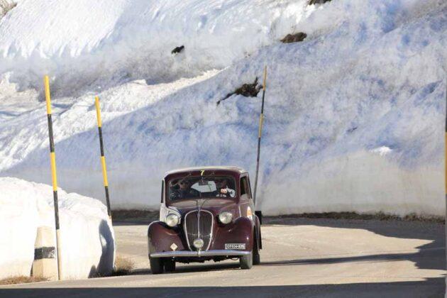 Gaggioli Pierini su Fiat 508 C del 1937 Ph Gallucci Photo