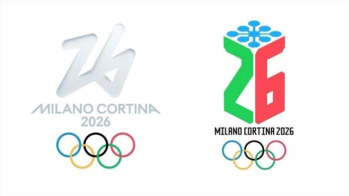 Loghi Olimpiadi Cortina 2026