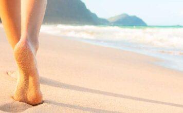 Micosi ai piedi spiaggia