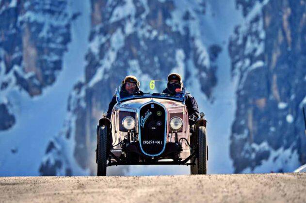 Piona Battagliola su Fiat 508 S del 1935 Ph. Roberto Deias