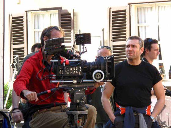 a Milano sul set di Backward 2