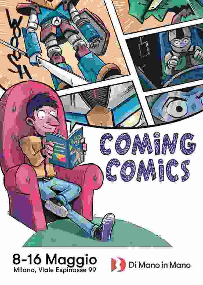 Coming Comics 8 16 Maggio Milano LOW