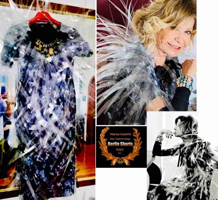 Costume Marco Coretti Costume Fedora indossato da Paola Quattrini