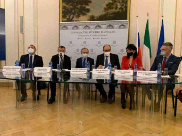 Delegazione regione Marche in Russia