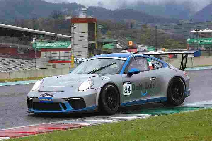 PCGT Il bergamasco Chicco Reggiani vincitore DSW 991 Cup Mugello2021
