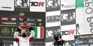 PCGT Il bergamasco Reggiani e il milanese Costacurta sul podio DSW 991 Cup Mugello2021