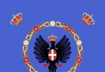 Royal Standard of Italy 1880–1946