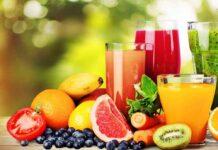 succhi e frullati frutta verdura