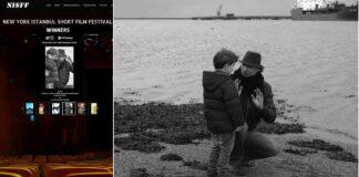 Director Negrini wih actor Javier Ross Ubeda