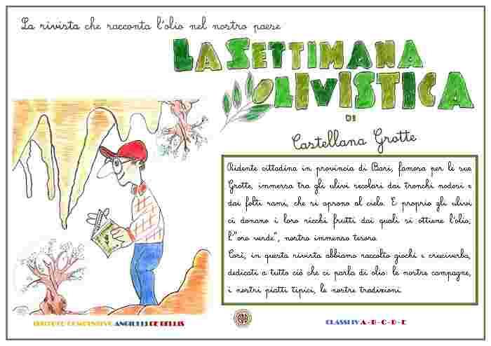 LA SETTIMANA OLIVISTICA di CASTELLANA G