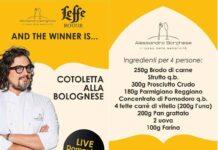 Leffe Live cooking Borghese Cotoletta alla bolognese