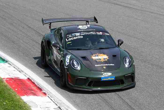 PCGT Diego Locanto vincitore Goodyear GT3 RS Monza 2021