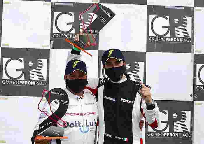 PCGT Il bergamasco Reggiani e il brianzolo Costacurta sul podio DSW 991 Cup Monza2021