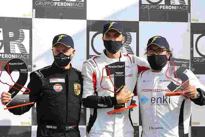 PCGT podio Panta GT4 Formato Rigo Zanchi Monza2021