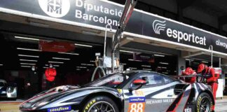 Rovera Ferrari 488 pits1 Barcelona 2021 ph JEP Elms