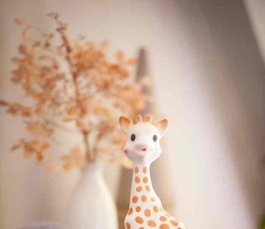 Sophie la girafe seule visuels