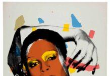 Andy Warhol, Ladies and Gentlemen (Iris), 1975, Serigrafia su carta, Unique, 98 compressed