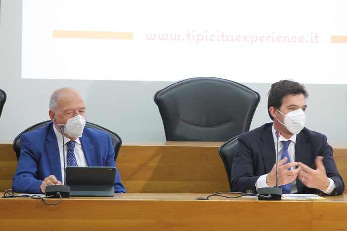 Angelo Serri e Francesco Acquaroli