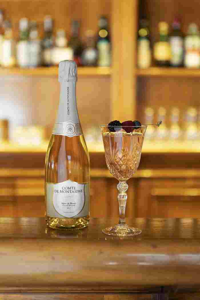 Cocktail Champagne Impulsion