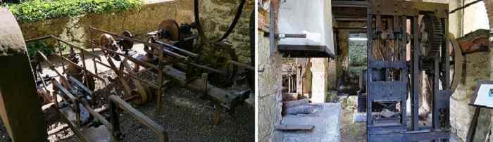 la ferriera antica officina macchinari