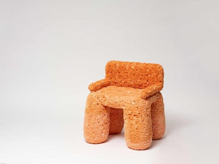 Aaron Chai Sponge series, Biggy Orange Isola.design The Stage Four