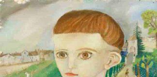 Antonio Ligabue (1899 1965), Ritratto di Elba, 1935, olio su compensato, cm 40x41. Stima 50.000 70.000 euro. min