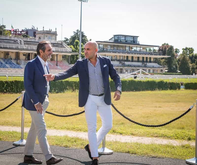 Attilio Fontana, Presidente Regione Lombardia e Fabio Schiavolin, AD Snaitech