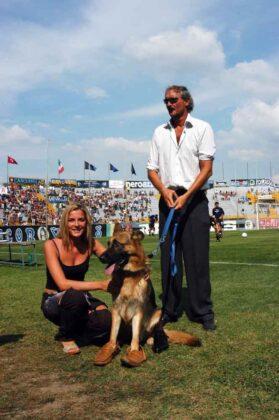 Carla Ricciotelli con Maurizio Mian e Gunther