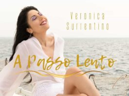 Cover A passo Lento Veronica Surrentino