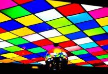 Disco TGI Bar by John Vance