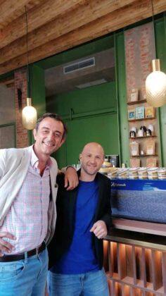 Francesco Sanapo e Patrick Hoffer