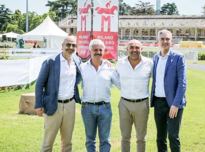 Ivan Gazidis Simone Perillo Fabio Schiavolin Alessandro Antonello