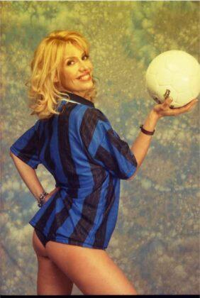 Maria Teresa Ruta madrina del Pisa Calcio