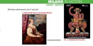 Milano Mostre a Luglio 2021