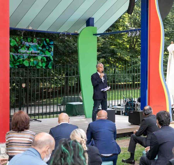 Stefano Boeri Forestami Conf. stampa 14 luglio © Triennale Milano foto Gianluca Di Ioia LD