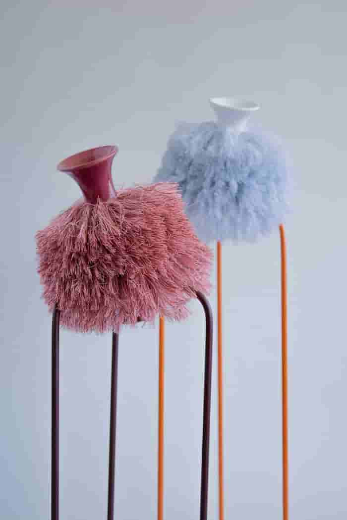 Yvon Smeets Oddities vase red & blue