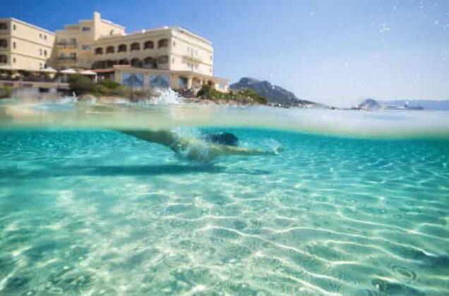 01 Gabbiano Azzurro Sardinia private beach 3