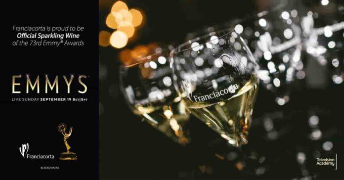 Franciacorta è il brindisi ufficiale dei 73° Emmy® Awards
