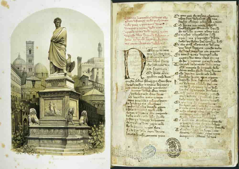 Albo per memoria del sesto centenario celebrato in Firenze a onore di Dante Alighieri 1865