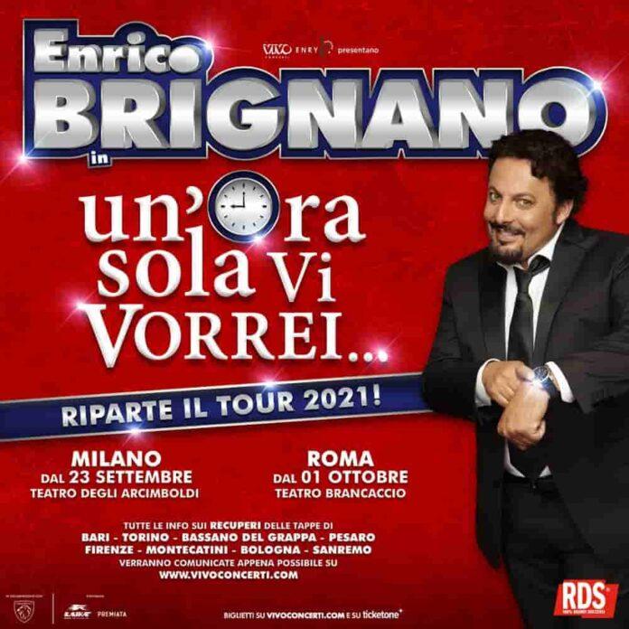 Enrico Brignano un'ora sola ti vorrei teatro