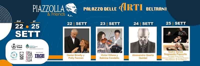 Loc. Orizz. Piazzolla & Friends, 22 25 settembre 2021