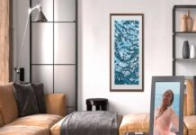Meural both living room