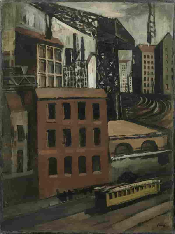 Periferia (Il tram e la gru), 1921