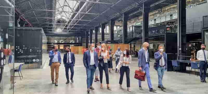 Vicesindaco Acito e assessore Pironti visita Ogr tech Torino